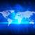 ウェブサイト · 青 · バーチャル · スペース · インターネット · コンピュータ - ストックフォト © cherezoff