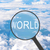 magnifying glass looking world stock photo © cherezoff