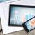 monitor · táblagép · okostelefon · grafikonok · szöveg · sorok - stock fotó © cherezoff