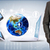 mundo · globo · 3D · aplicativos - foto stock © cherezoff