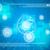 verschillend · symbolen · nummers · abstract · Blauw · huis - stockfoto © cherezoff