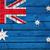 avustralya · bayrak · grunge · Avustralya · kırmızı · beyaz - stok fotoğraf © cherezoff