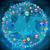 kleurrijk · kaart · Blauw · wereldkaart · iconen · muziek - stockfoto © cherezoff