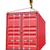 クレーン · フック · 赤 · 貨物 · コンテナ · 白 - ストックフォト © cherezoff