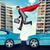 businessman springing over cars stock photo © cherezoff
