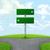 jelzőtábla · zöld · fű · mező · kék · ég · felhők · tavasz - stock fotó © cherezoff