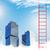 лестнице · небе · успех · бизнеса · дороги · солнце - Сток-фото © cherezoff