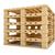 houten · vracht · vak · witte · geïsoleerd · 3D - stockfoto © cherezoff