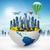地球 · バルーン · おもちゃ · 地球 · ボール · 風船 - ストックフォト © cherezoff