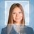 meisje · gezicht · lijnen · frame · tekst · persoon - stockfoto © cherezoff