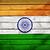 индийской · флаг · Индия · сфере · изолированный · белый - Сток-фото © cherezoff