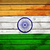 indian · vlag · 3d · render · reflectie - stockfoto © cherezoff