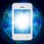 smartphone · aplikacja · ikona · ilustracja · projektu · biały - zdjęcia stock © cherezoff