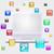 laptop · alkalmazás · ikonok · számítógép · technológia · kéz - stock fotó © cherezoff