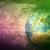 earth globe with graphs stock photo © cherezoff