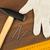 hamer · handschoenen · heerser · nagels · bruin · houten · tafel - stockfoto © cherezoff