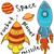 szett · űr · tudomány · sebesség · acél · rakéta - stock fotó © cherezoff