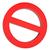 red prohibitory sign stock photo © cherezoff