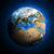 aarde · aarde · planeet · communie · afbeelding · hemel - stockfoto © cherezoff