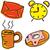 будильник · Кубок · кофе · чай · Рождества · древесины - Сток-фото © cherezoff