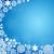 fehér · hópelyhek · kék · karácsony · égbolt · absztrakt - stock fotó © cherezoff