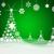 branco · árvore · de · natal · luzes · abstrato · fundos · árvore - foto stock © cherezoff