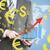 zakenman · groei · grafiek · wereldkaart · business - stockfoto © cherezoff