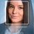 meisje · gezicht · lijnen · frame · tekst · Blauw - stockfoto © cherezoff