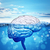 human brain in sea stock photo © cherezoff