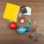 irodaszerek · billentyűzet · számológép · izolált · fehér · üzlet - stock fotó © cherezoff