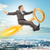 empresário · voador · chave · ouro · acima · cidade - foto stock © cherezoff