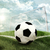 футбольным · мячом · углу · области · Гранж · стиль · спортивных - Сток-фото © cherezoff