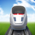 bewegende · trein · snel · ouderwets · zomer · business - stockfoto © cherezoff