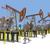 olaj · dolgozik · vidéki · hely · gyár · nap - stock fotó © cherezoff