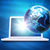 earth model above laptop stock photo © cherezoff