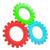 カラフル · 歯車 · 3次元の図 · 3D · 白 · 建設 - ストックフォト © cherezoff