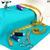 sewing machine with fabric threads and scissors stock photo © cherezoff