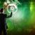 ビジネスマン · スーツ · 触れる · 地球 · 世界中 · ホログラム - ストックフォト © cherezoff