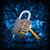 Binärcode · Kombinationsschloss · Lupe · abstrakten · elektronischen · Internet - stock foto © cherezoff
