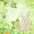 karikatür · tavşan · papatyalar · yeşil · grunge · çiçek - stok fotoğraf © cherju