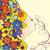 красивая · женщина · аннотация · цветы · волос · иллюстрация · бабочка - Сток-фото © cherju