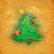 moço · desenho · animado · velho · árvore · grama · folha - foto stock © cherju