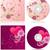вектора · розовый · цветы · набор · текстуры · свадьба - Сток-фото © cherju