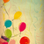 colorful balloons on old paper background stock photo © cherju