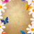 flowers and butterflies grunge style spring background vintage p stock photo © cherju