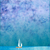 white yacht in blue sea under blue sky grunge background stock photo © cherju