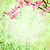 pink cherry blossom branch on green grunge background easter ill stock photo © cherju