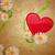 Daisy · grunge · rose · fleur · tête ·  tige - photo stock © cherju