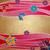 magenta · bloemen · vlinders · grunge · oud · papier · bloem - stockfoto © cherju