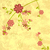 grunge vintage style background with pink spring flowers and gre stock photo © cherju